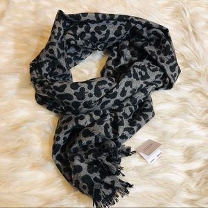 NWT coach cashmere and wool blend scarf